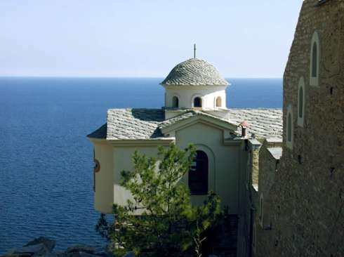 Monastery of Archangel Michael on island of Thassos